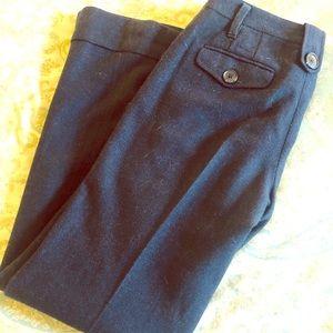 Ann Taylor lined herringbone slacks